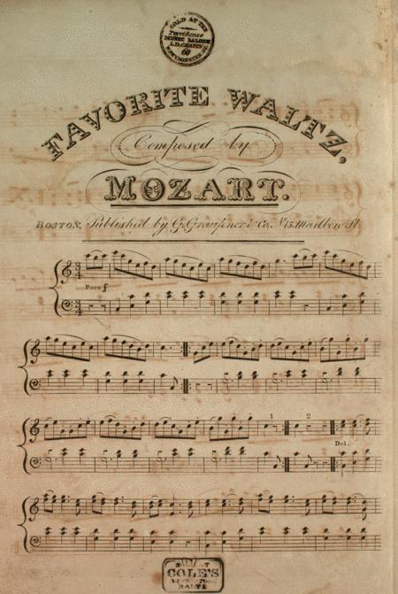 Favorite Waltz