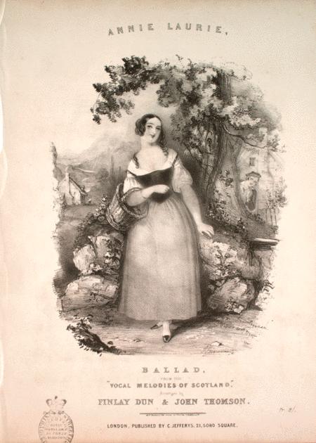 Annie Laurie. Ballad