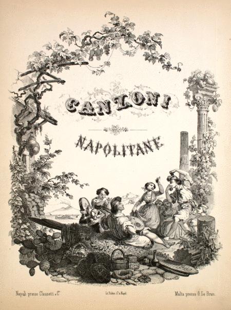 Canzoni Napolitane. Te voglio bene assaje