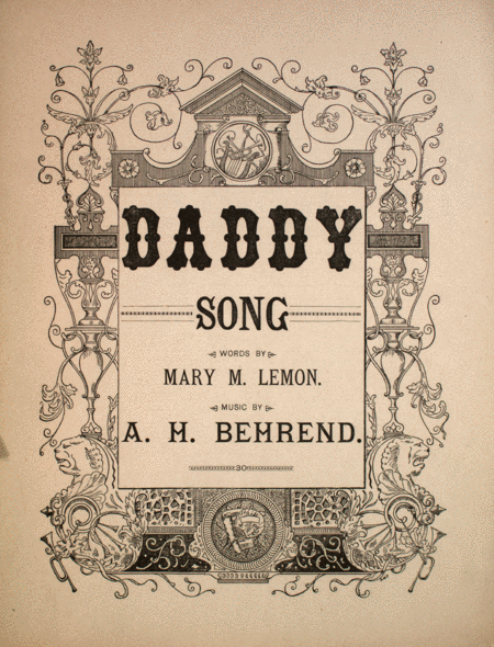 Daddy. Song