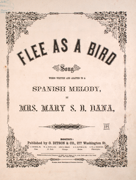 Flee as a Bird. Song