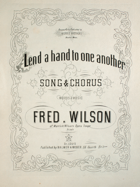 Lend a Hand to One Another. Song & Chorus