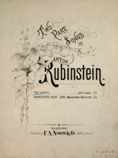 Two Part Songs by Anton Rubinstein. The Angel (Der Engel)