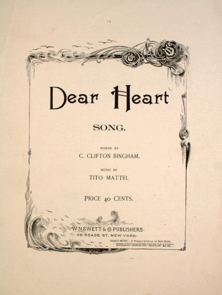 Dear Heart. Song