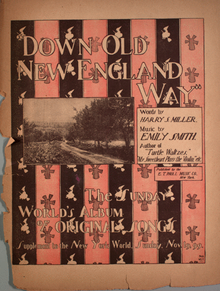 Down Old New England Way. The Sunday World's Album of Original Songs