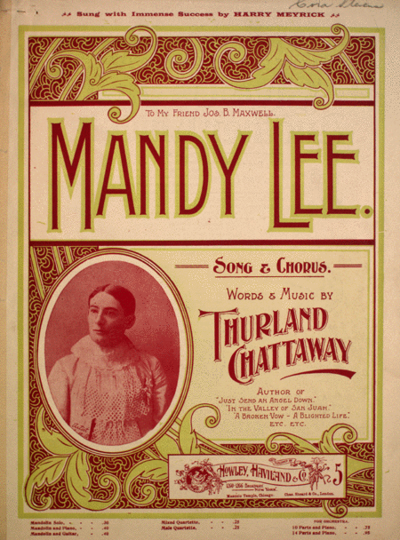 Mandy Lee. Song & Chorus