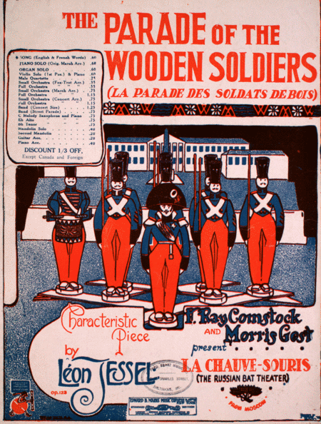The Parade of the Wooden Soldiers (La Parade Des Soldats De Bois). Characteristic Piece. Fox-Trot Song