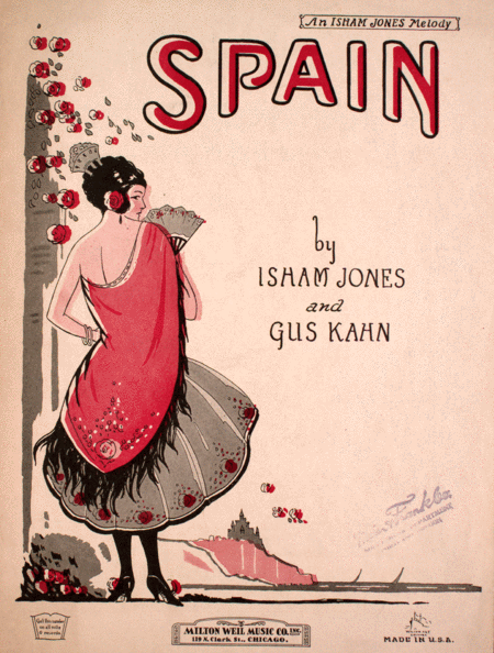 Spain. An Isham Jones Melody