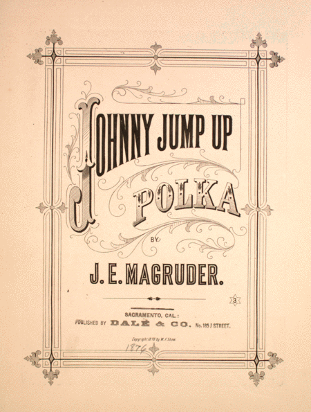 Johnny Jump Up. Polka