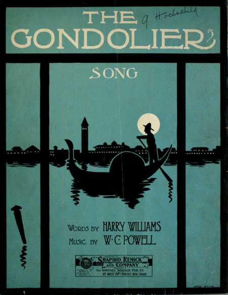 The Gondolier. Song