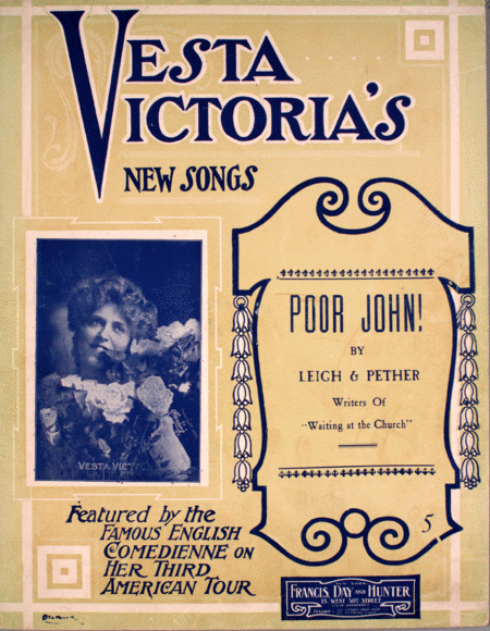 Poor John! Vesta Victoria's New Songs