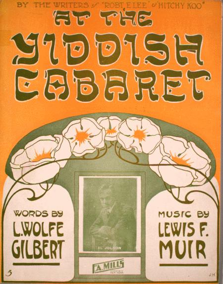 At the Yiddish Cabaret
