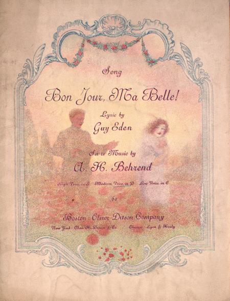 Bon Jour, Ma Belle! Song