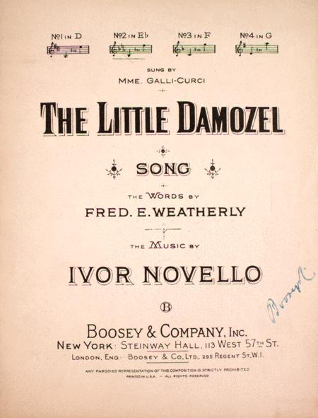 The Little Damozel. Song