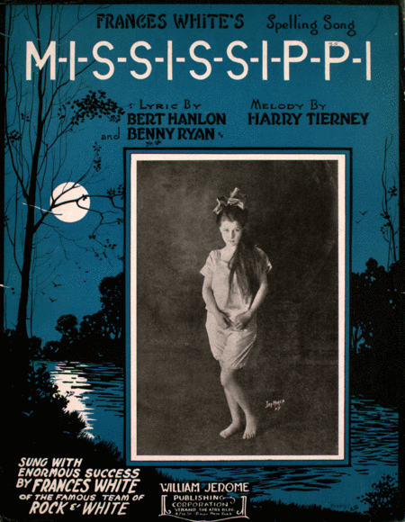 Frances White's Spelling Song M-I-S-S-I-S-S-I-P-P-I