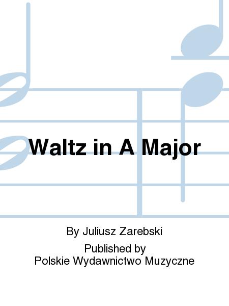 Waltz in A Major