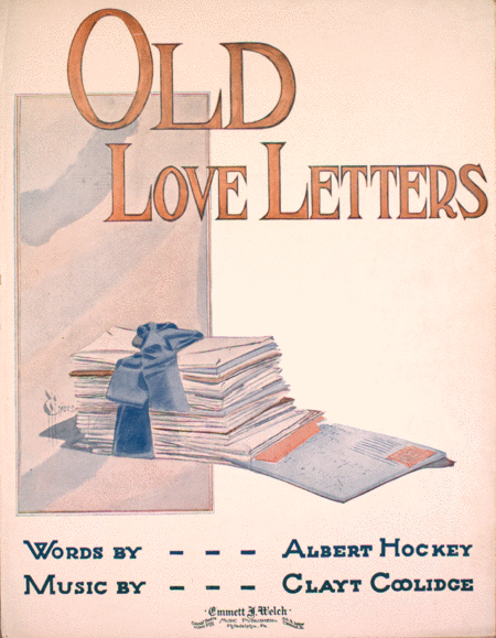 Download Old Love Letters Sheet Music By Clayt Coolidge