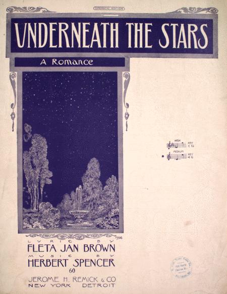 Underneath the Stars. A Romance