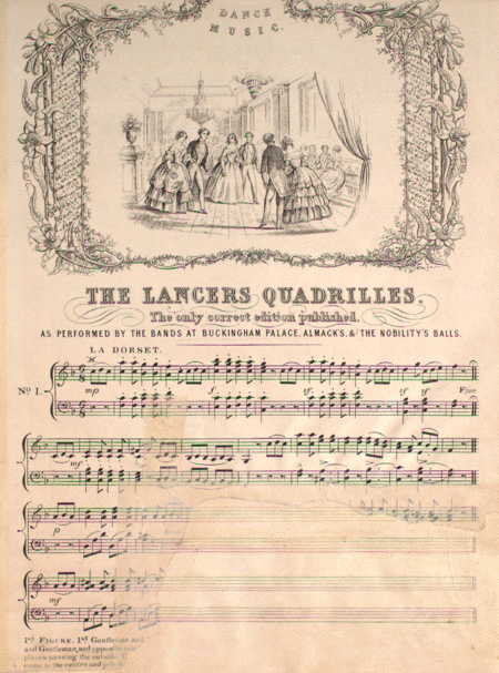Dance Music: The Lancers Quadrilles