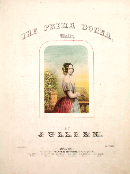 The Prima Donna. Waltz