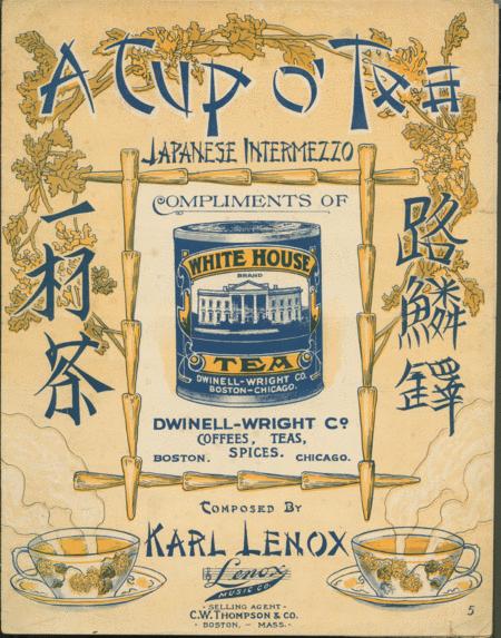 A Cup O' Tea. Japanese Intermezzo