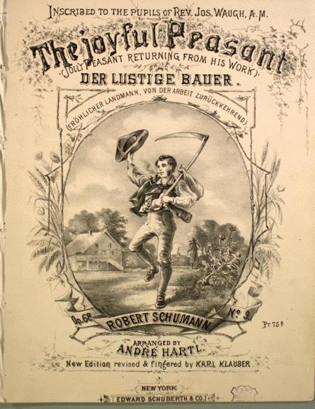 The Joyful Peasant (Jolly Peasant Returning From His Work). Der Lustige Bauer (Frohlicher Landmann, Von Der Arbeit Zuruckkehrend)