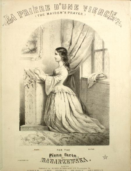 La Priere D'Une Vierge (The Maiden's Prayer)