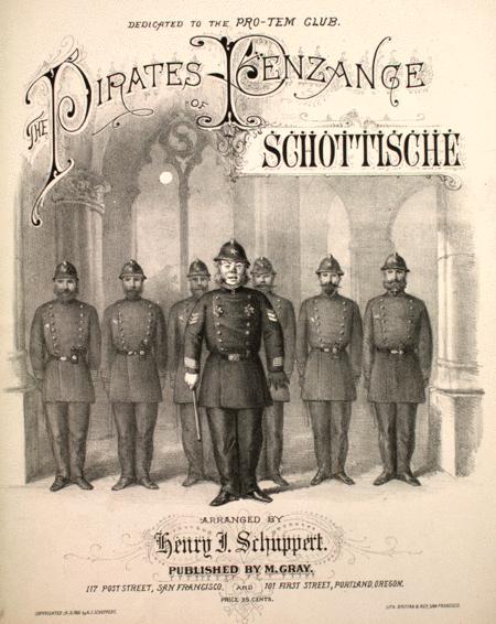 The Pirates of Penzance Schottische