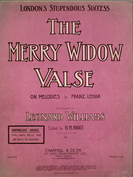 The Merry Widow Valse
