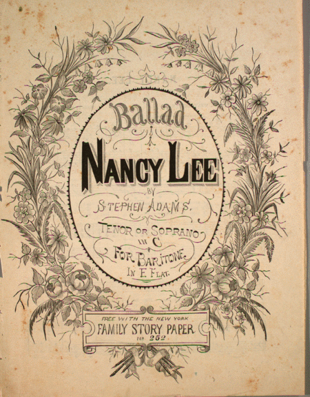 Ballad. Nancy Lee