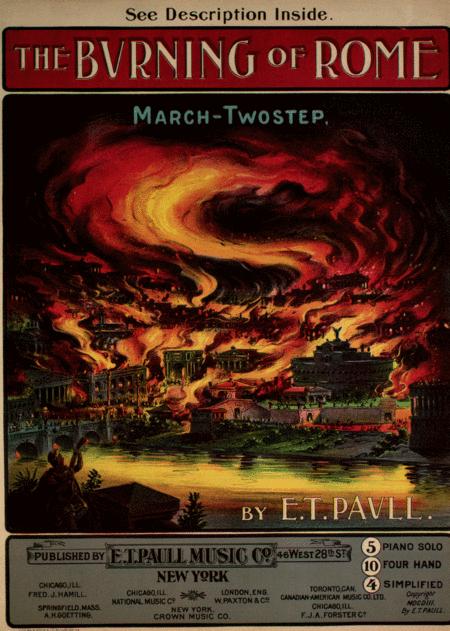 The Burning of Rome. March-Two Step