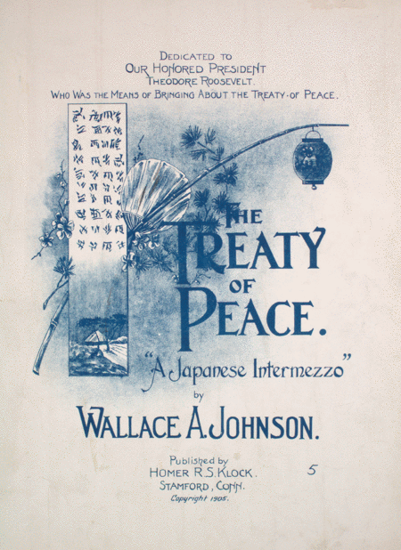 The Treaty of Peace. A Japanese Intermezzo