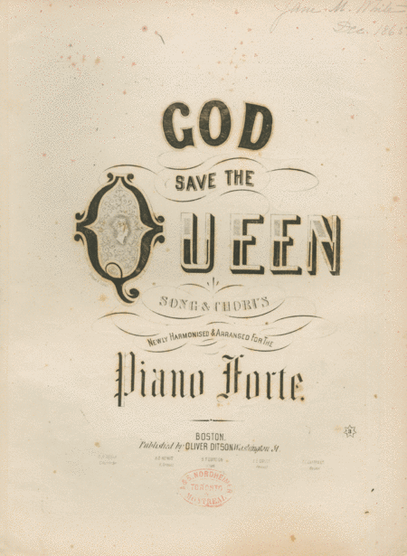 God Save the Queen. Song & Chorus