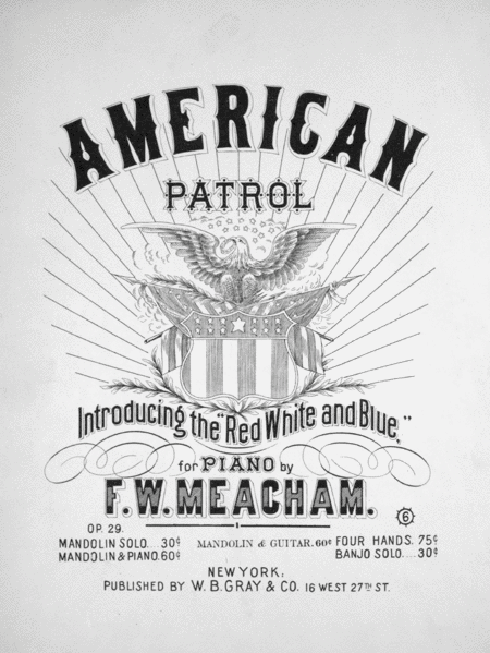 American Patrol. Introducing the