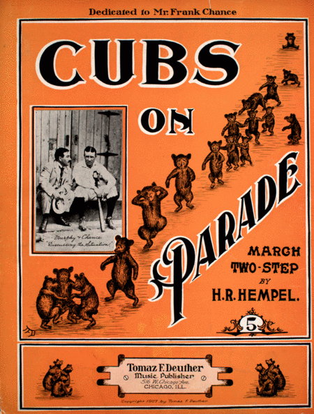 Cubs on Parade. March Two-Step