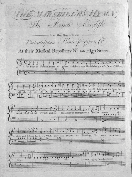 The Marseilles Hymn (French Marche Des Marseillois)