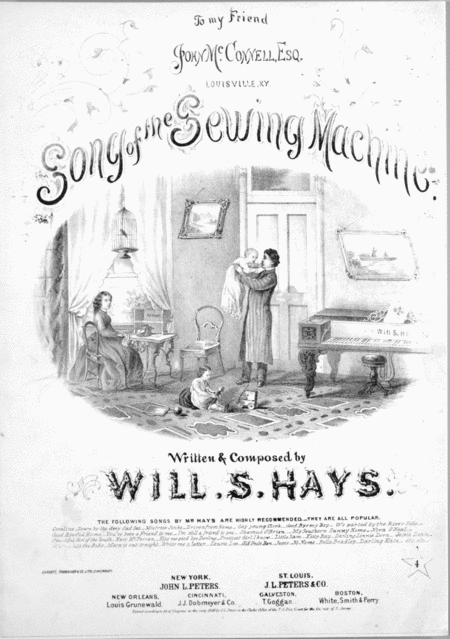 Song of the Sewing Machine