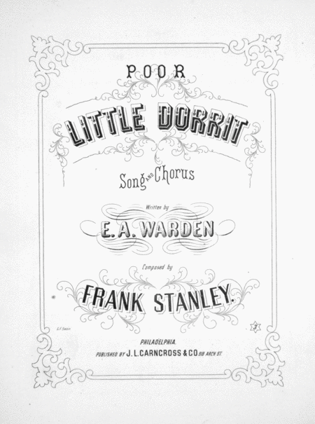 Poor Little Dorrit. Song and Chorus