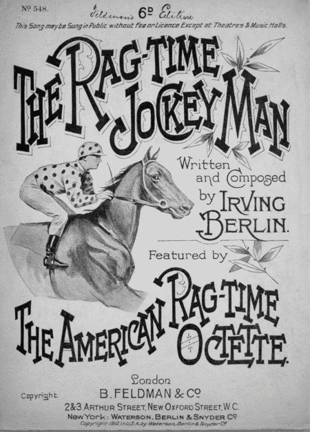 The Rag-time Jockey Man