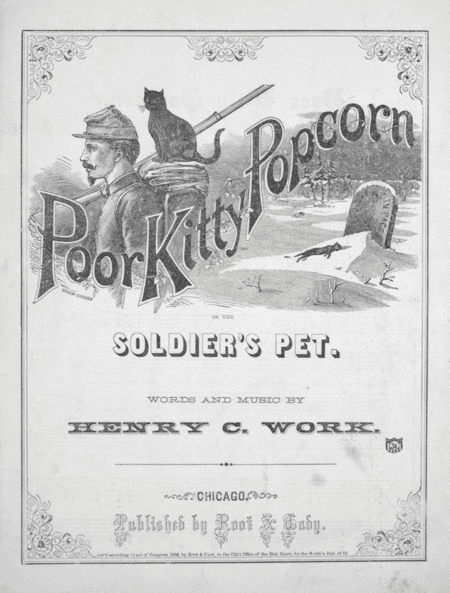 Poor Kitty Popcorn, or, The Soldier's Pet