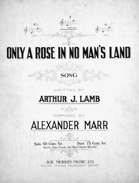 Only a Rose in No Man's Land. Song