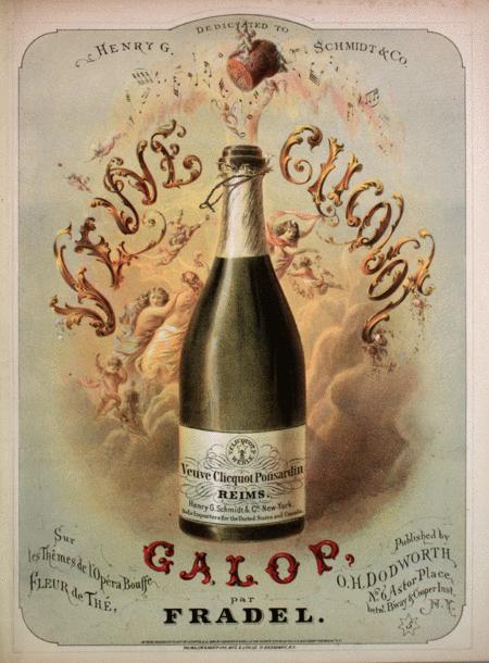 Veuve Clicquot. Sur les Themes de l'Opera Bouffe, Fleur de The. Galop