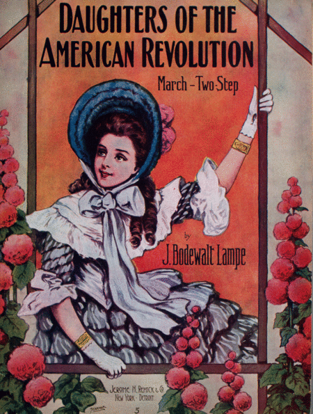 Daughters of the American Revolution. March-Two-Step