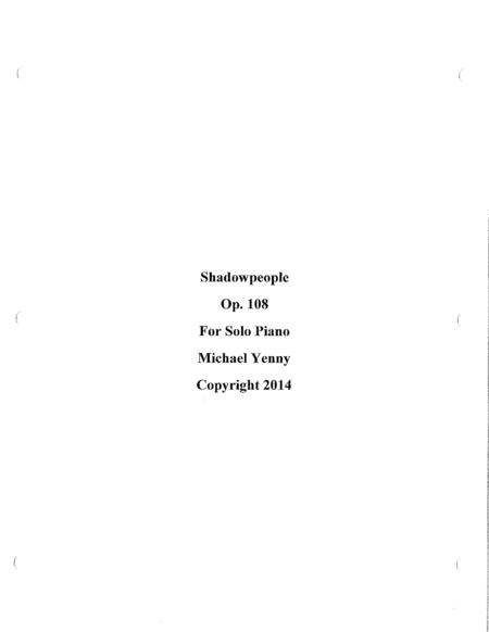 Shadowpeople, op. 108