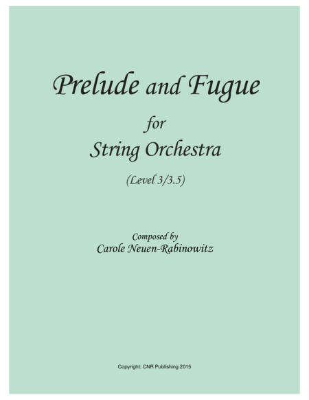 Prelude and Fugue for String Orchestra