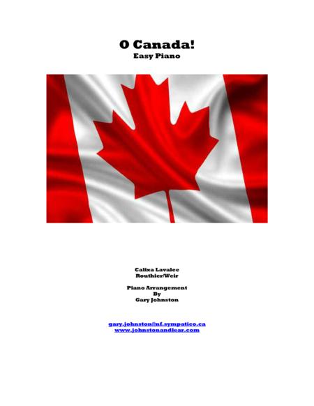 O Canada! - Easy Piano