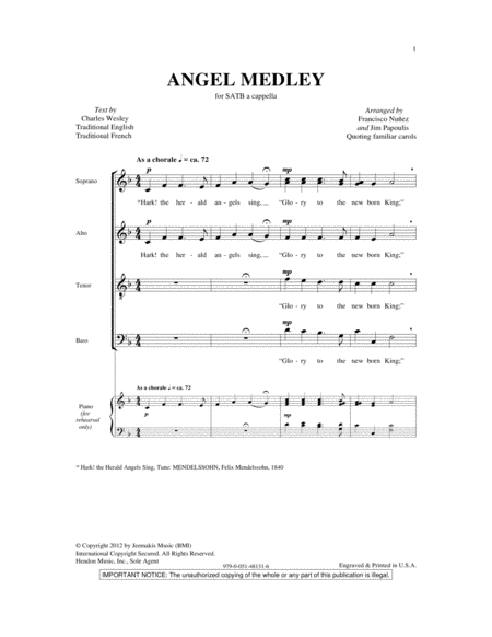 Angel Medley (from Coolside of Yuletide)