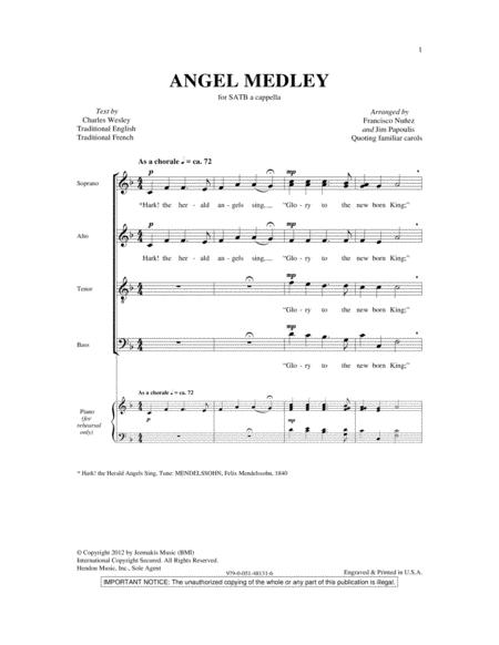 Angel Medley (from Coolside of Yuletide)