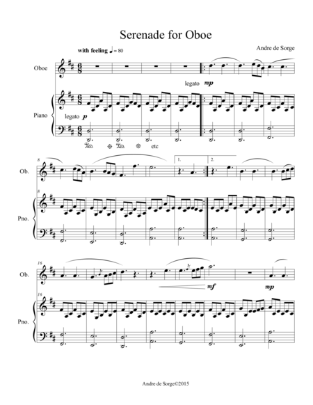 Serenade for Oboe