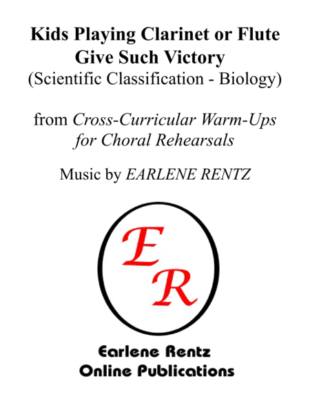 Kids Playing Clarinet or Flute Give Such Victory (Scientific Classification - Biology)  Warm-Up